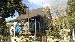 信州 飯島町 売ログハウス 趣味の小屋付です