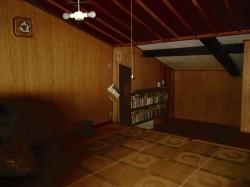 約10帖の屋根裏部屋