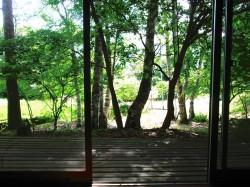 洋室からの風景