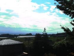 2階洋室から見る南アルプスの山並み