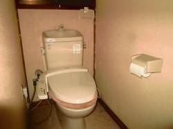 ウォシュレット付 水洗トイレ
