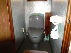 ウォシュレット付水洗トイレ(合併浄化槽)