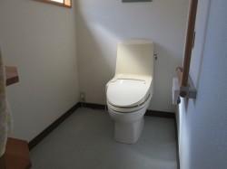 ウォシュレット付水洗トイレ(広いです)