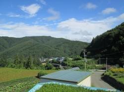 2階から見る 里山の風景