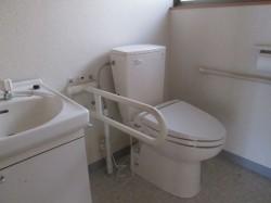 離れ ウォシュレット付水洗トイレ