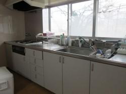母屋 1階 キッチンスペース