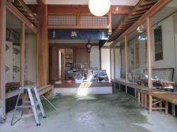 広い玄関土間ホール