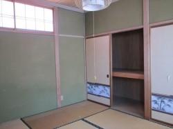 昭和54年に増築した2階和室