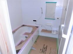 新設のバスルーム♪