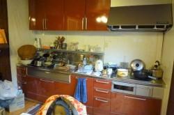 キッチン流し台。改装時入れ替え済