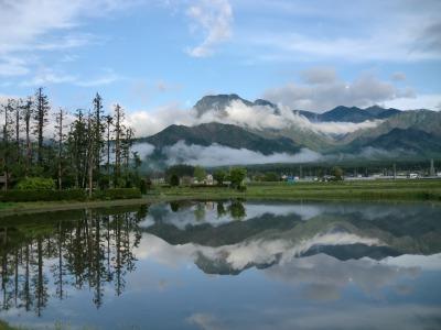 北アルプスの絶景パノラマと名峰信濃富士「有明山」