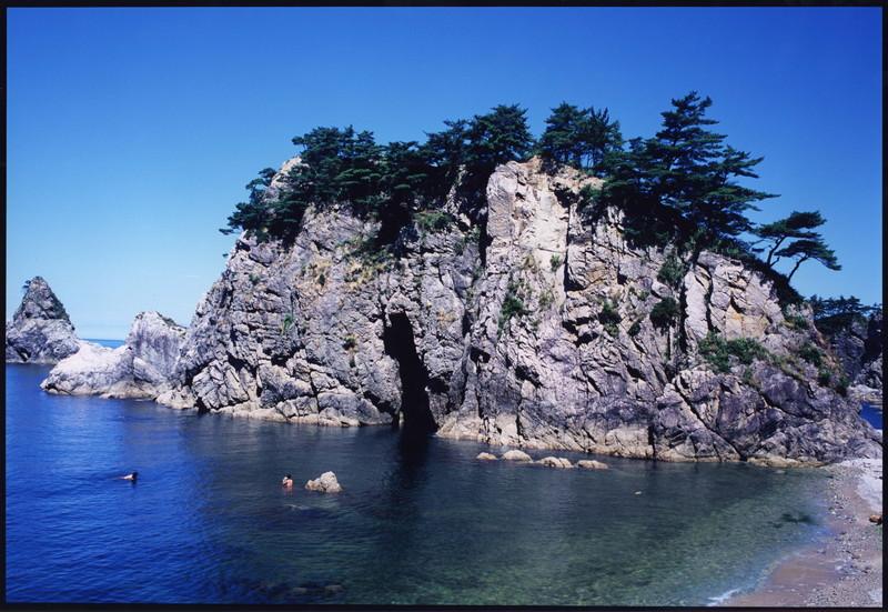 雄大な景観 笹川流れ